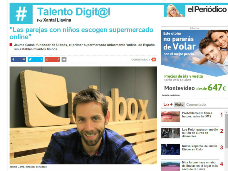 Entrevista Talento Digital - Ulabox